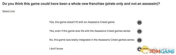 育碧着手征集玩家对《刺客信条5》的意见看法