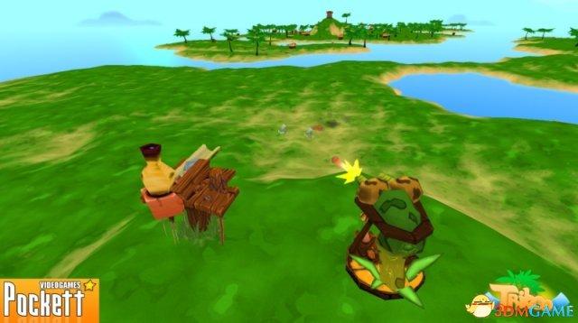 多元素趣味作品《Triboo》公布 实际游戏截图赏