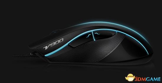 微操芯片专助胜利 雷柏V900激光游戏鼠标上市