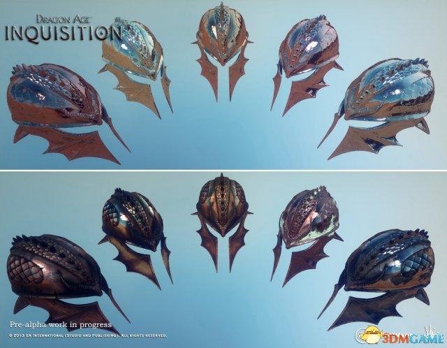 《龙腾世纪:审判》新截图欣赏 盔甲很给力!