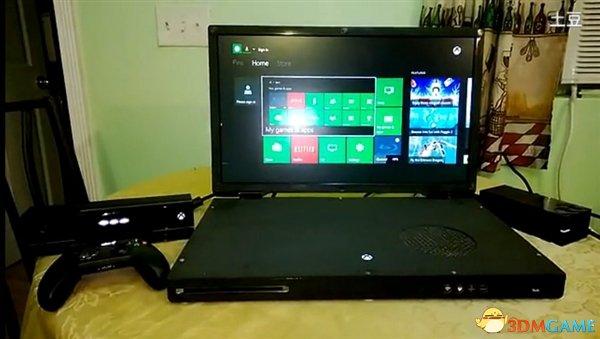 极客拯救世界 全球首台22英寸XboxOne笔记本出现