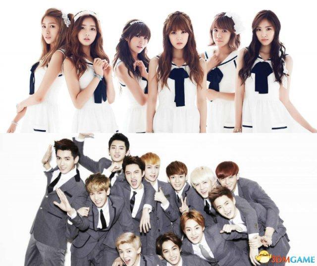 EXO与A Pink卷入在线游戏聊天丑闻 官方予以否认