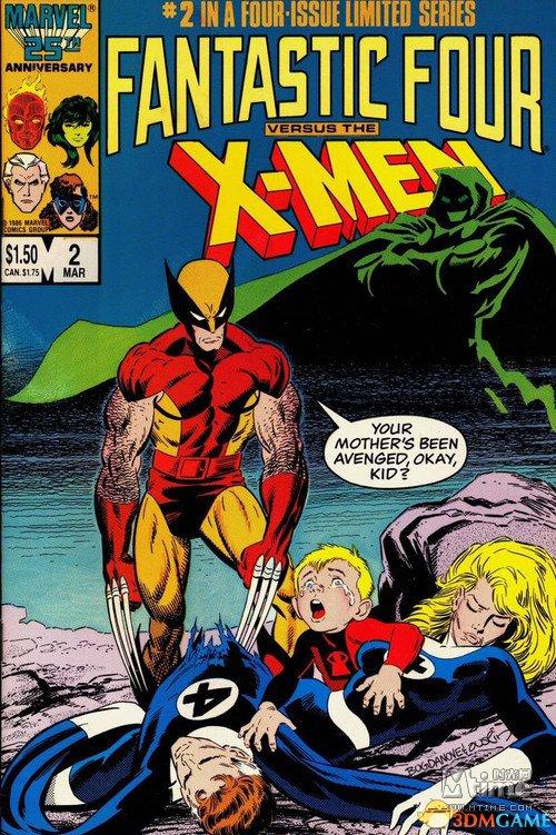 <b>FOX计划拍摄漫画改编电影《神奇四侠大战X战警》</b>