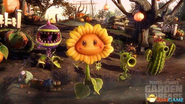 《花园战争》在XOne上有分屏 而X360上没有?