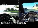 《GT6》vs《极限竞速5 》同屏对比