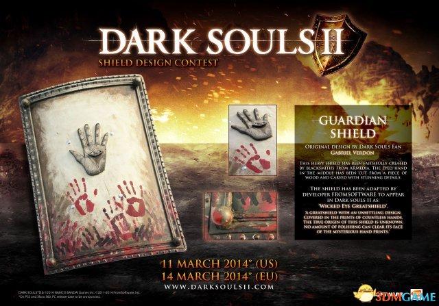 <b>《黑暗之魂2》盾牌设计获奖作品游戏中表现一览</b>