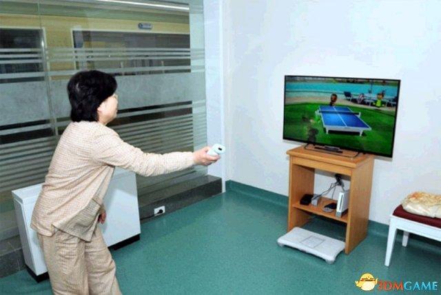 三胖原来是任粉 亲自督建高档疗养院中竟有Wii主机