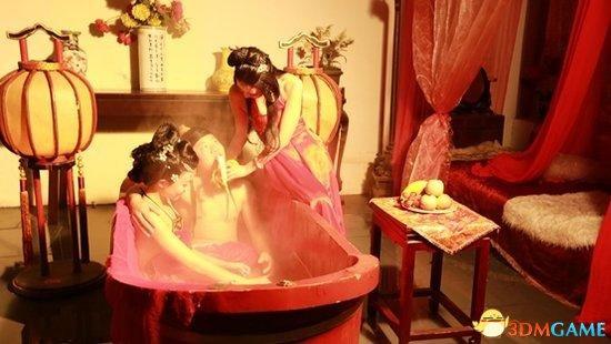 某知名手游厂商雇嫩模当众侍浴 炒作没有下限