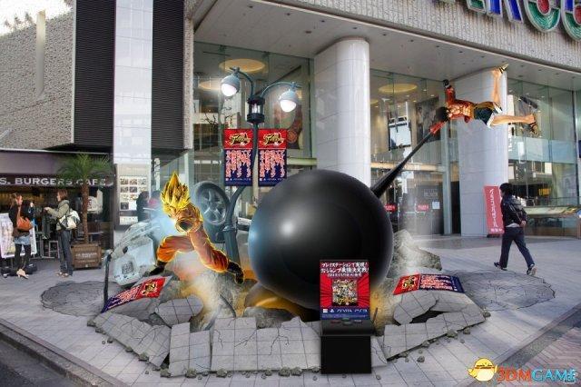 《Jump全明星乱斗》发售记念 悟空巨大模型出现