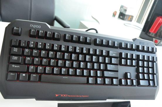 微操芯片 专助胜利 雷柏V700游戏机械键盘图赏