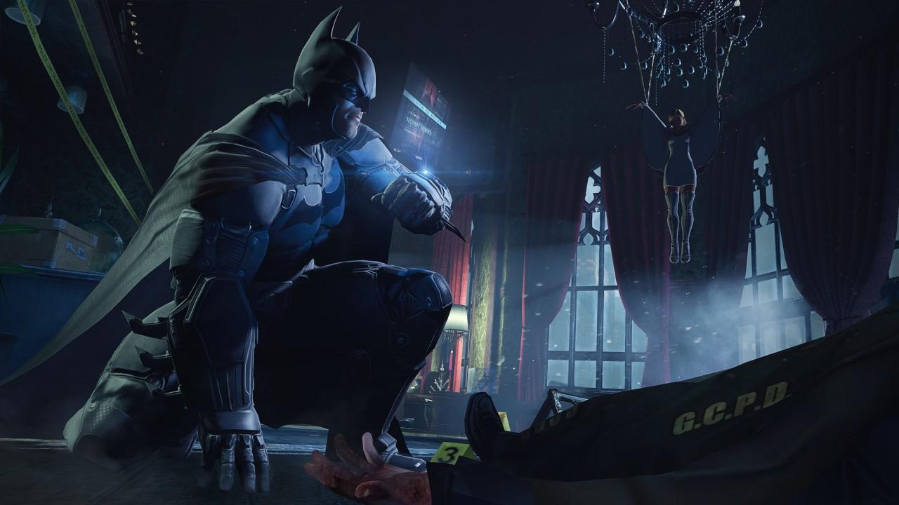 蝙蝠侠:阿卡姆起源 10号升级档+破解补丁[3DM]