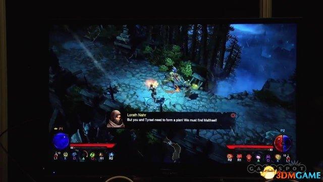 <b>PS4《暗黑破坏神3:终极邪恶版》试玩演示屏摄</b>