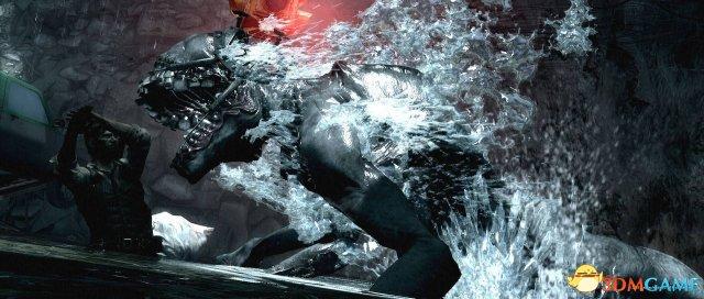《恶灵附身》恐怖新图赏 邪恶巨兽欲将主角吞噬