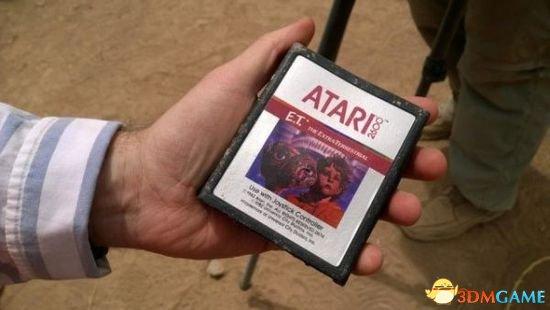 游戏卡带坟场现世 微软找到Atari 2600《E.T.》