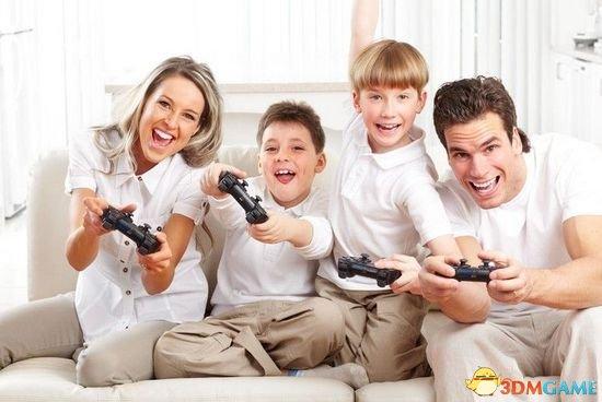 研究报告称一半以上家庭认为玩游戏有助于和谐