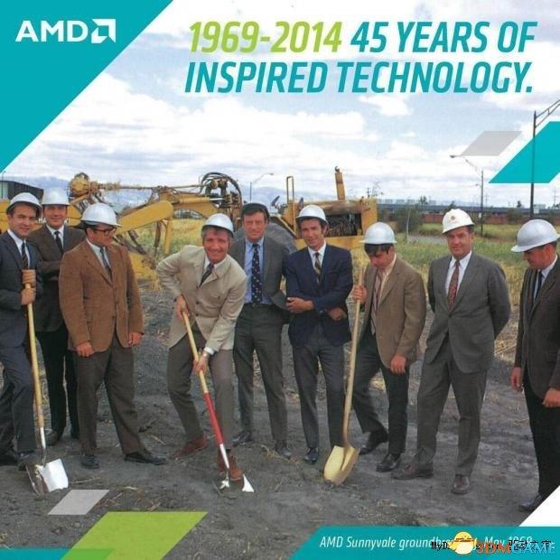 奇迹的半个世纪:超微半导体公司AMD已经45岁了