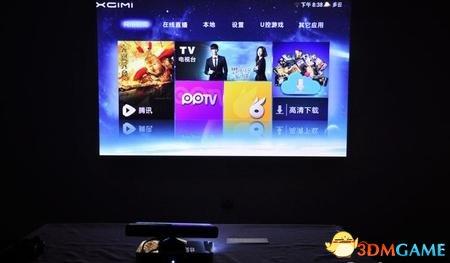 """未来属于投影技术?""""无屏""""电视已杀入年轻人市场"""
