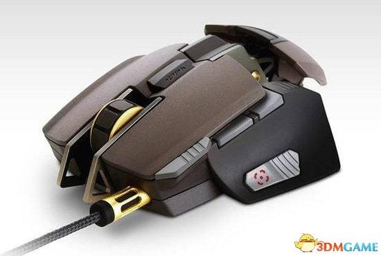 Cougar 700M旗舰级游戏鼠标展示 内置ARM处理器
