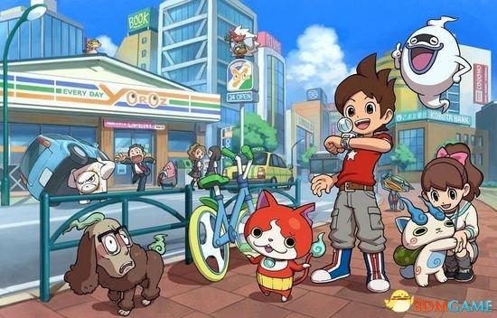日本游戏周销量统计 《妖怪手表》连续四周第一