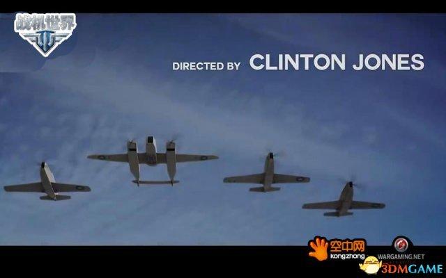 《战机世界》外服大拿真人微电影  空中花样作死
