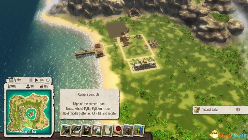 海岛大亨5 图文教程攻略 游戏系统全解析