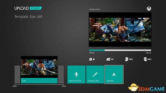 微软再曝Xbox,one语音指令可截屏