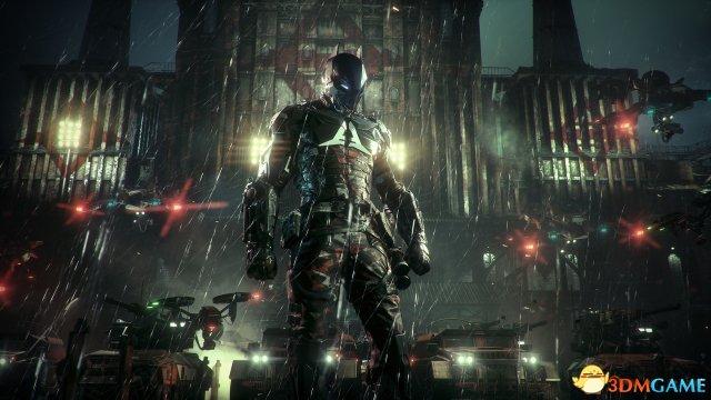 《蝙蝠侠:阿甘骑士》新图 性感猫女助战蝙蝠侠