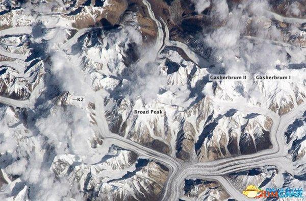 你绝没看过 从太空看地球上的山脉是怎样的情景?