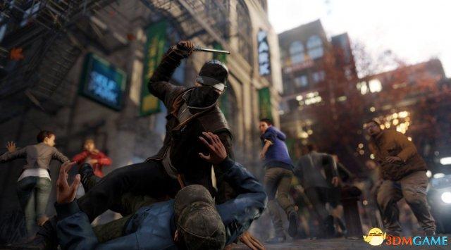 育碧用《看门狗》中的NPC来创造全新的善恶系统