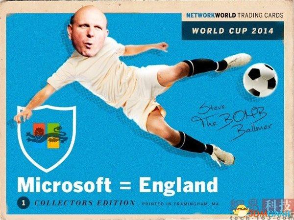 趣味对比!来看看科技巨头对应哪个世界杯球队?