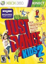 KINECT舞力全开 2:儿童版 美版ISO版