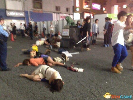 东京新宿女生集体昏倒 警方并未检测出药物反应