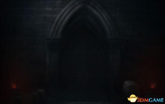 目前暗黑3板块一片漆黑,有个大门若隐若现