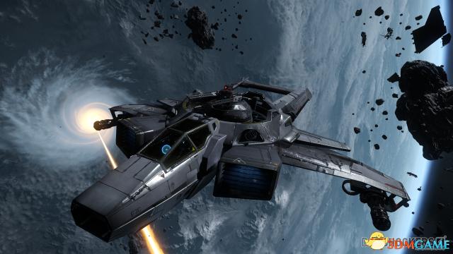 《星际公民》达到4千8百万集资目标 新型战机亮相