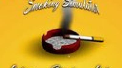 吸烟模拟器 节操解说视频 不吸烟就会死的悲催男