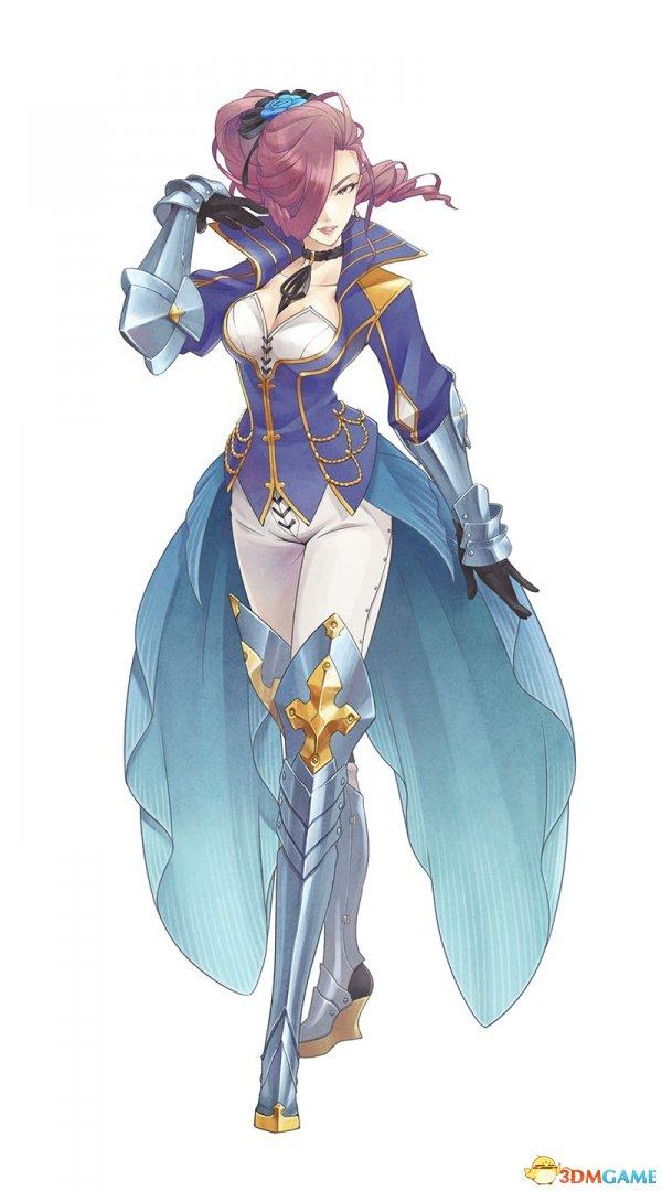新作《情热传说》新角色登场 王国女骑士乳此霸气
