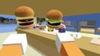 疯狂快餐汉堡 节操解说视频 你见过这样做汉堡的吗
