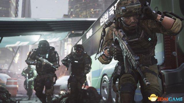 《使命召唤11:高级战争》等同于四部好莱坞电影