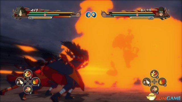 <b>《火影:究极风暴-革命》新图 鸣人单挑尾兽人柱力</b>