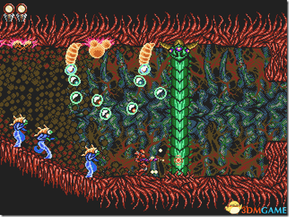 《超等机械人》的阴霾风格 源于魂斗罗和银河兵士