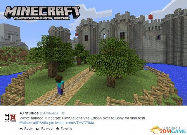 葡萄游戏厅下载《我的世界》PS4/XB1版将至 PSV版晚