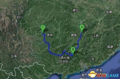 男子国庆步行走回家 走了500多公里高速后发现走反
