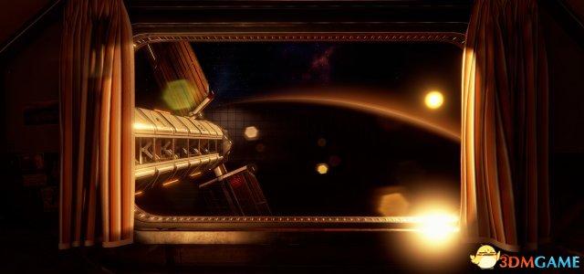 如果大家有幸搬到了外太空 新的生活就是这样的!
