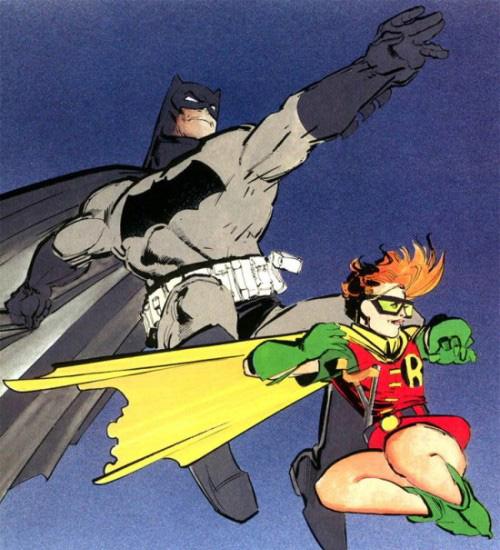 <b>《蝙蝠侠大战超人:正义黎明》或首次出现女罗宾</b>