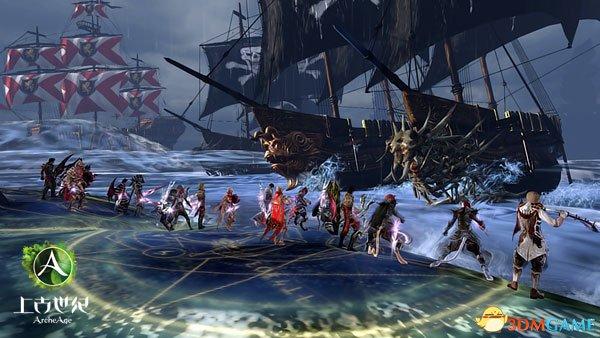 探访世界 《上古世纪》航海内测今日12时正式开启