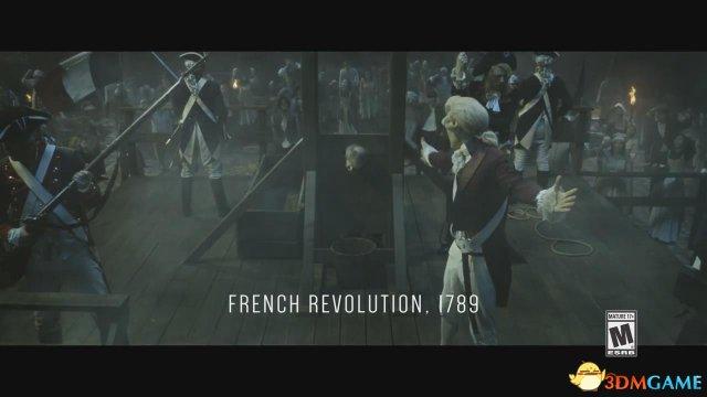 就要成立历史,刺客信条大革命最新预报片