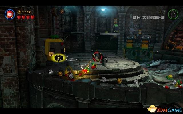 灵敏机器侠第二关_第一关:下水道里的追捕者(2)_乐高蝙蝠侠3:飞跃哥谭市 图文 ...