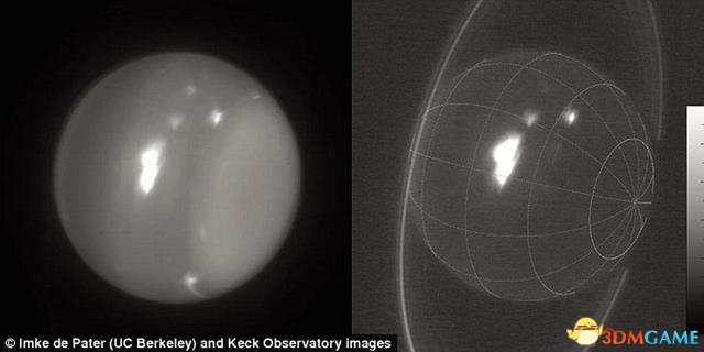 天王星大气层发现超级风暴 形成原因目前仍是谜
