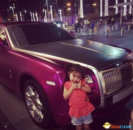 韩国五岁萌娃炫富照网络爆红 迪拜土豪跪求交朋友
