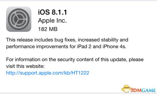 iOS 8.1.1和它之前的几个iOS 8版本一样,问题不断。